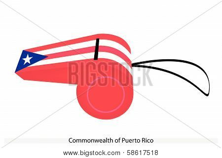 A Whistle Of Commonwealth Of Puerto Rico