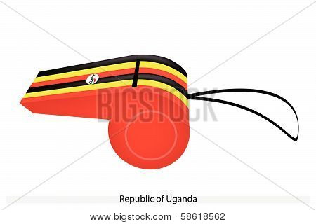 A Whistle Of The Republic Of Uganda