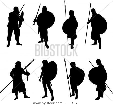 Warrior Silhouettes