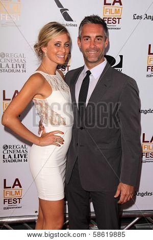 Jay Harrington and Monica Richards at