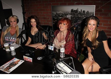 Mary Carey, Erika Jordan, Kitten Natividad and Jessica Kinni at