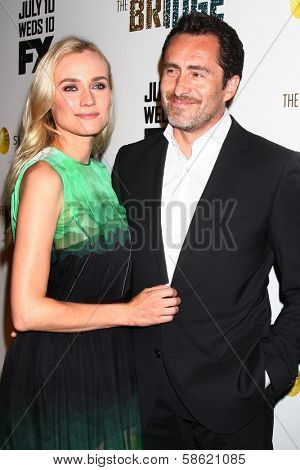Diane Kruger and Demian Bichir at