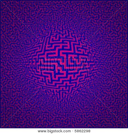 Labyrinth Maze Background