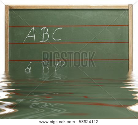 Sinking Abc Blackboard