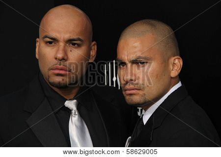 Daniel Moncada and Luis Moncada at the
