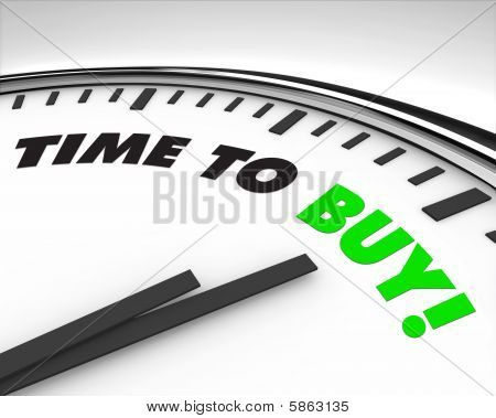 Time To Buy - Clock