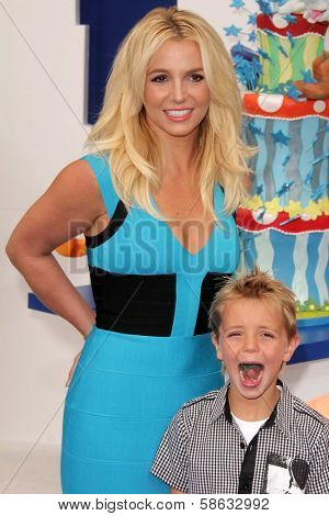 Britney Spear and, Sean Preston Federline at the