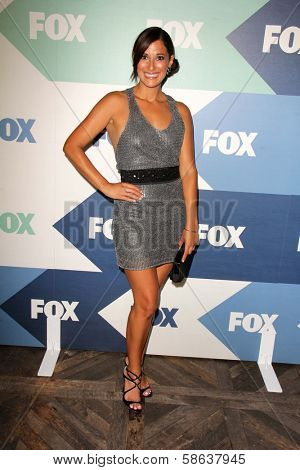 Angelique Cabral at the Fox All-Star Summer 2013 TCA Party, Soho House, West Hollywood, CA 08-01-13