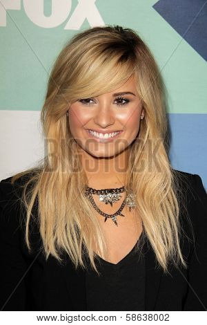 Demi Lovato at the Fox All-Star Summer 2013 TCA Party, Soho House, West Hollywood, CA 08-01-13