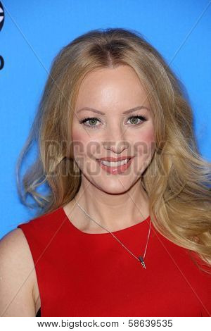 Wendi McLendon-Covey at the Disney/ABC Summer 2013 TCA Press Tour, Beverly Hilton, Beverly Hills, CA 08-04-13