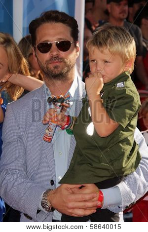 Jason Priestley at the World Premiere Of Disney's Planes, El Capitan, Hollywood, CA 08-05-13