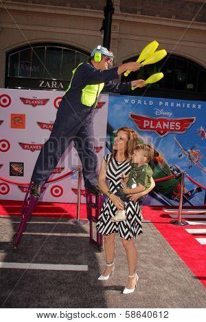 Alyssa Milano at the World Premiere Of Disney's Planes, El Capitan, Hollywood, CA 08-05-13