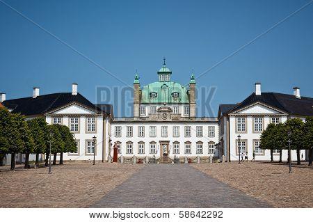 Fredensborg palace in Denmark