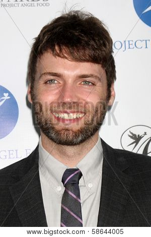 Seth Gabel at the Project Angel Food Angel Awards, Project Angel Food, Los Angeles, CA 08-10-13