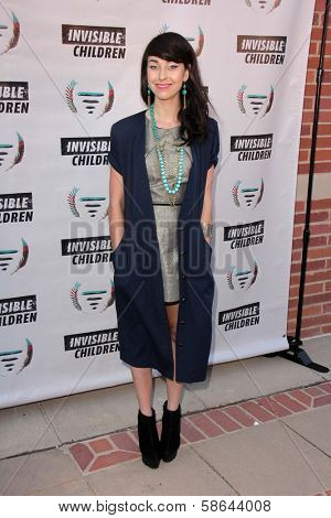 Kimbra Lee Johnson at the Invisible Children Fourth Estate's Founders Party, UCLA, Westwood, CA 08-10-13