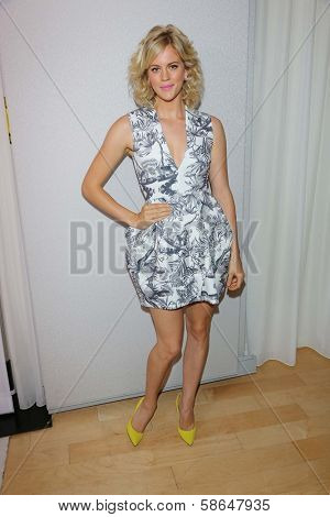 Georgia King at the 12th Annual InStyle Summer Soiree, Mondrian, West Hollywood, CA 08-14-13