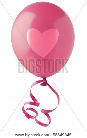 Valentines Love Heart Balloon