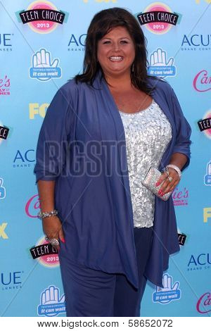 Abby Lee Miller at the 2013 Teen Choice Awards Arrivals, Gibson Amphitheatre, Universal City, CA 08-11-13