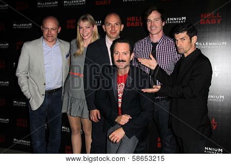 Rob Corddry, Riki Lindhome, Paul Scheer, Thomas Lennon, Rob Huebel and Robert Ben Garant at the