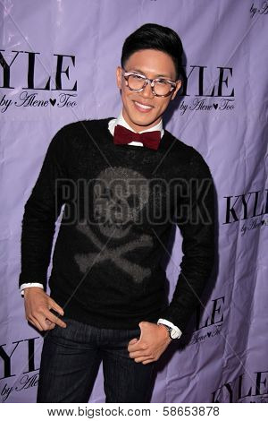 Johnny Anastacio at the Have Faith Swimgerie By Lilly Ghalichi And Jennifer Stano David 2014 Collection Preview, Kyle By Alene Too, Beverly Hills, CA 08-20-13