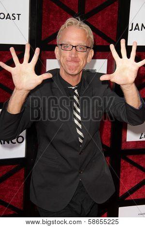 Andy Dick at the Comedy Central Roast Of James Franco, Culver Studios, Culver City, CA 08-25-13