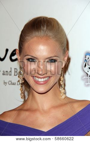 Kristen Dalton at the 5th Annual Night of Generosity, Beverly Hills Hotel, Beverly Hills, CA 09-06-13