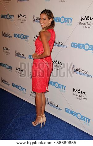 Renee Bargh at the 5th Annual Night of Generosity, Beverly Hills Hotel, Beverly Hills, CA 09-06-13