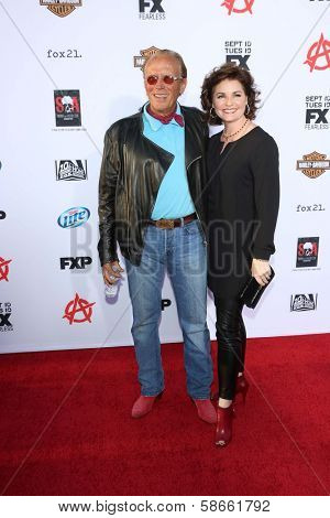 Peter Weller and Sheri Stowe Weller at the