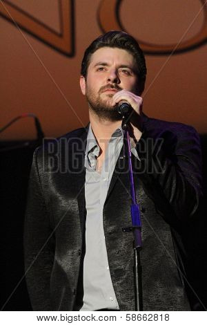 Chris Young at the 7th Annual ACM Honors, Ryman Auditorium, Nashville, TN 09-10-13