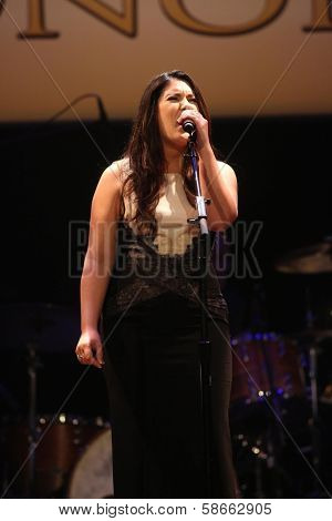 Kree Harrison at the 7th Annual ACM Honors, Ryman Auditorium, Nashville, TN 09-10-13