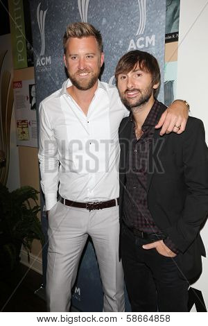 Charles Kelley and Dave Haywood at the 7th Annual ACM Honors, Ryman Auditorium, Nashville, TN 09-10-13