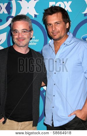 Len Wiseman and Alex Kurtzman at the 2013 FOX Fall Eco-Casino Party, The Bungalow, Santa Monica, CA 09-09-13