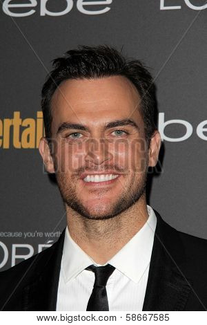Cheyenne Jackson at the 2013 Entertainment Weekly Pre-Emmy Party, Fig& Olive, Los Angeles, CA 09-20-13