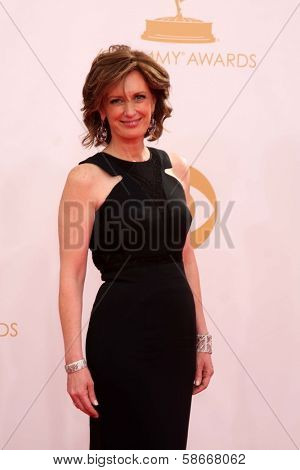 Ann Sweeny at the 65th Annual Primetime Emmy Awards Arrivals, Nokia Theater, Los Angeles, CA 09-22-13