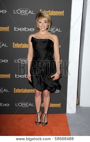 Melissa Rauch at the 2013 Entertainment Weekly Pre-Emmy Party, Fig& Olive, Los Angeles, CA 09-20-13
