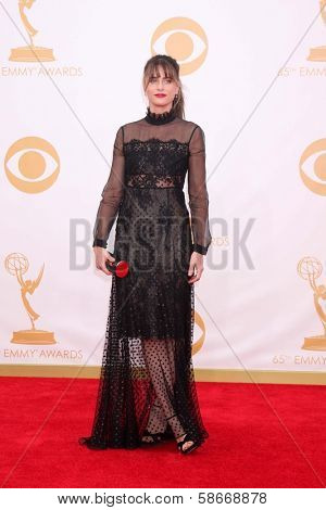 Amanda Peet at the 65th Annual Primetime Emmy Awards Arrivals, Nokia Theater, Los Angeles, CA 09-22-13