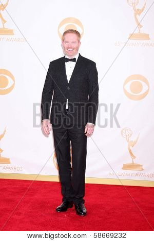 Jesse Tyler Ferguson at the 65th Annual Primetime Emmy Awards Arrivals, Nokia Theater, Los Angeles, CA 09-22-13