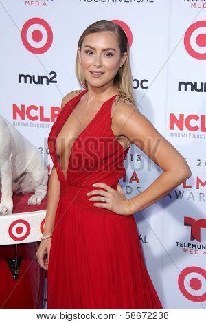 Alexa Vega at the 2013 NCLR ALMA Awards Arrivals, Pasadena Civic Auditorium, Pasadena, CA 09-27-13