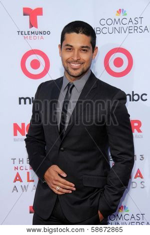 Wilmer Valderrama at the 2013 NCLR ALMA Awards Arrivals, Pasadena Civic Auditorium, Pasadena, CA 09-27-13