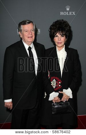 Carole Bayer Sager and Bob Daly at the Walt Disney Concert Hall 10th Anniversary Celebration, Walt Disney Concert Hall, Los Angeles, CA 09-30-13