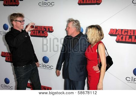Jake Busey and Gary Busey at the