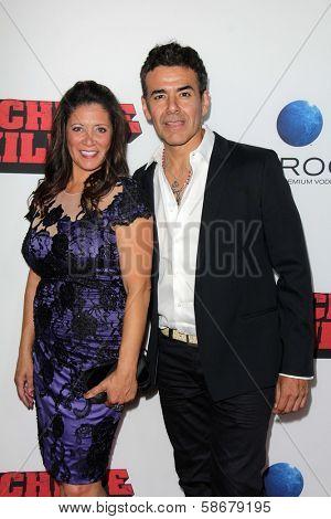 Iliana Gulbert and Jose Yenque at the