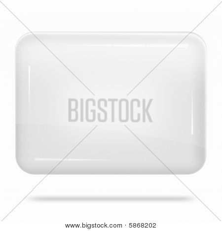 Blank White Board Float