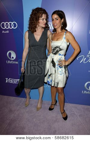 Rebecca Wisocky and Ana Ortiz at Variety's 5th Annual Power of Women, Beverly Wilshire, Beverly Hills, CA 10-04-13