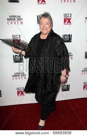 Kathy Bates at the