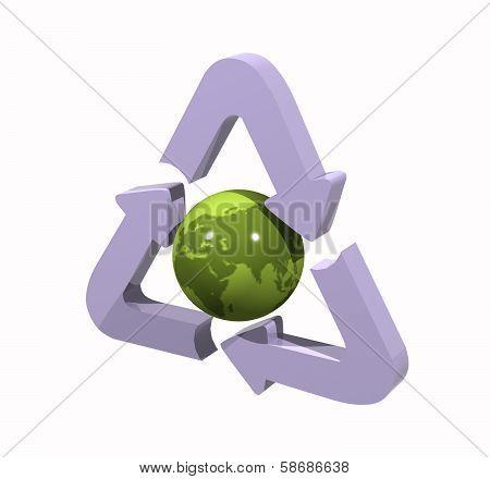 Green Global Optimization Symbol