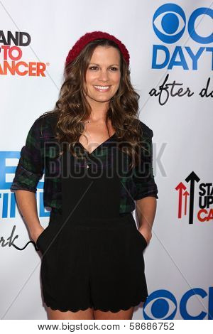 Melissa Claire Egan at the CBS Daytime After Dark Event, Comedy Store, West Hollywood, CA 10-08-13