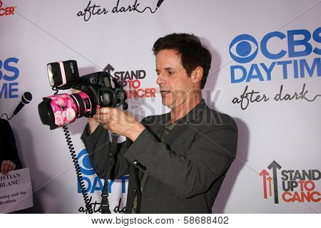 Christian LeBlanc at the CBS Daytime After Dark Event, Comedy Store, West Hollywood, CA 10-08-13