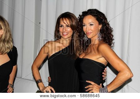 Patricia Kara and Sofia Milos at the Philhellenes Gala, Skybar, West Hollywood, CA 10-09-13