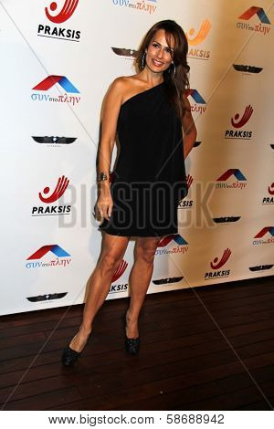 Patricia Kara at the Philhellenes Gala, Skybar, West Hollywood, CA 10-09-13